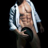 "Alt=""Byron Bay Male Strippers, Hens Party Strippers, Topless Waiter, Shirtless Waiter, Male Stripper Hire at Byron Bay Beach Babes"""